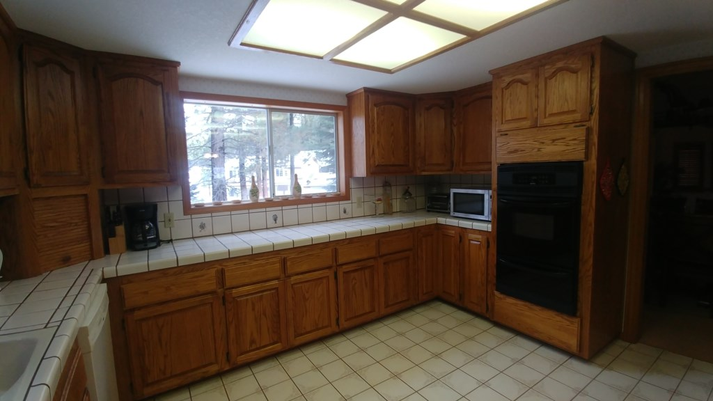 Spacious Kitchen with Plenty of Cabinets and Counter Space