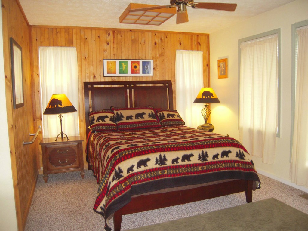 Comfortable Beds with Handicap Access