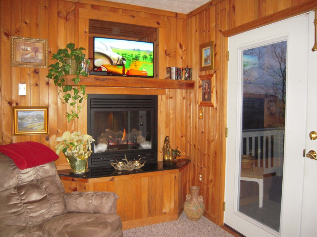 Enjoy the Fireplace with a View