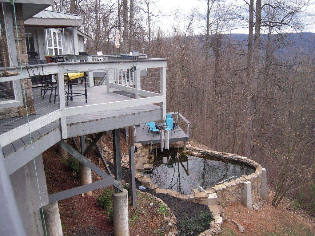 Double Decks and Private Pond