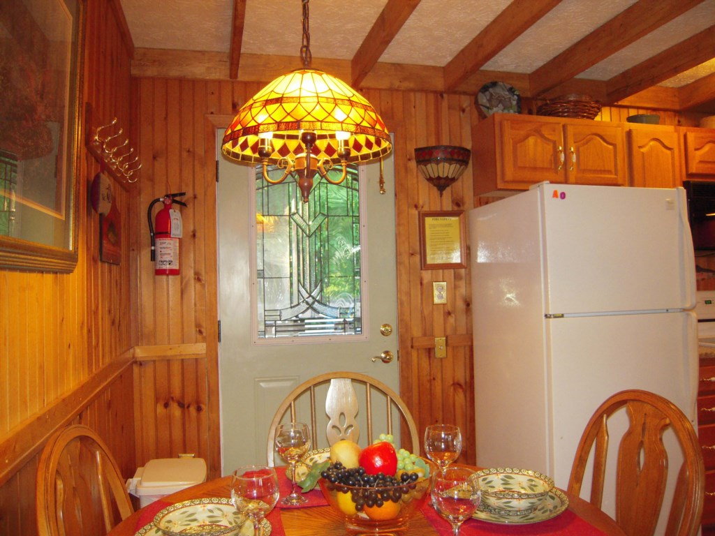 Charming Kitchen and Dining Area