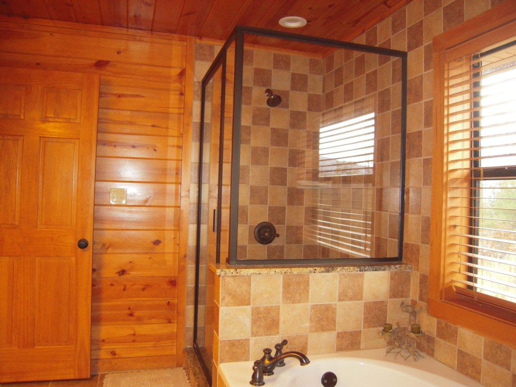 Relax with a Bath or Walk-In Shower