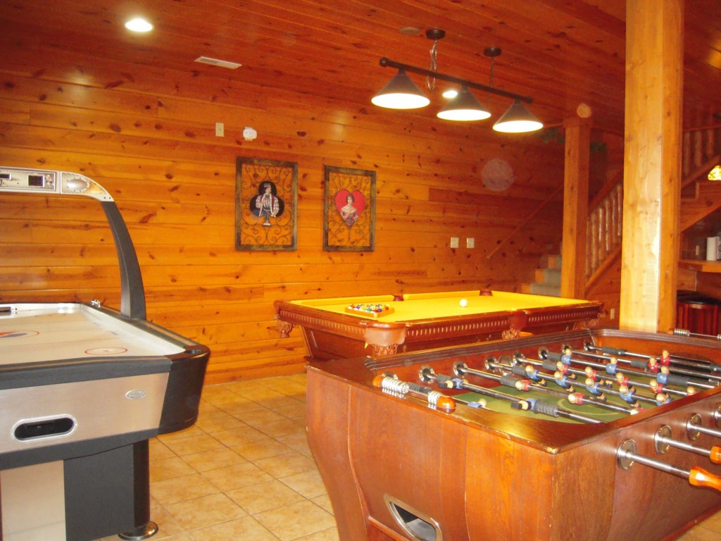 Pool Table and Other Games