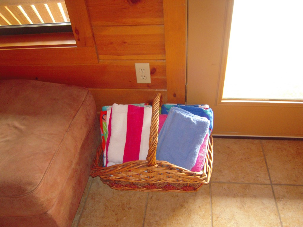 Stocked with Ample Towels and Necesities