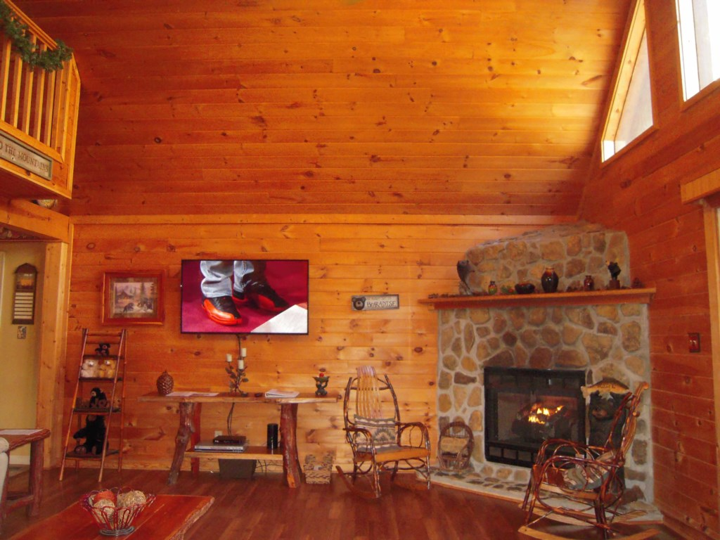 Spacious and Vaulted Wood Ceilings