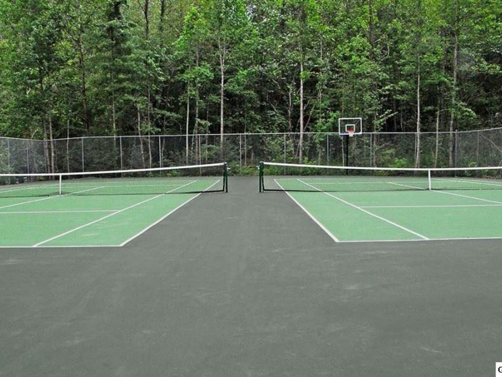 Tennis Courts Down the Road