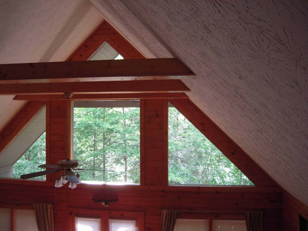 Beautiful A-Frame Ceilings