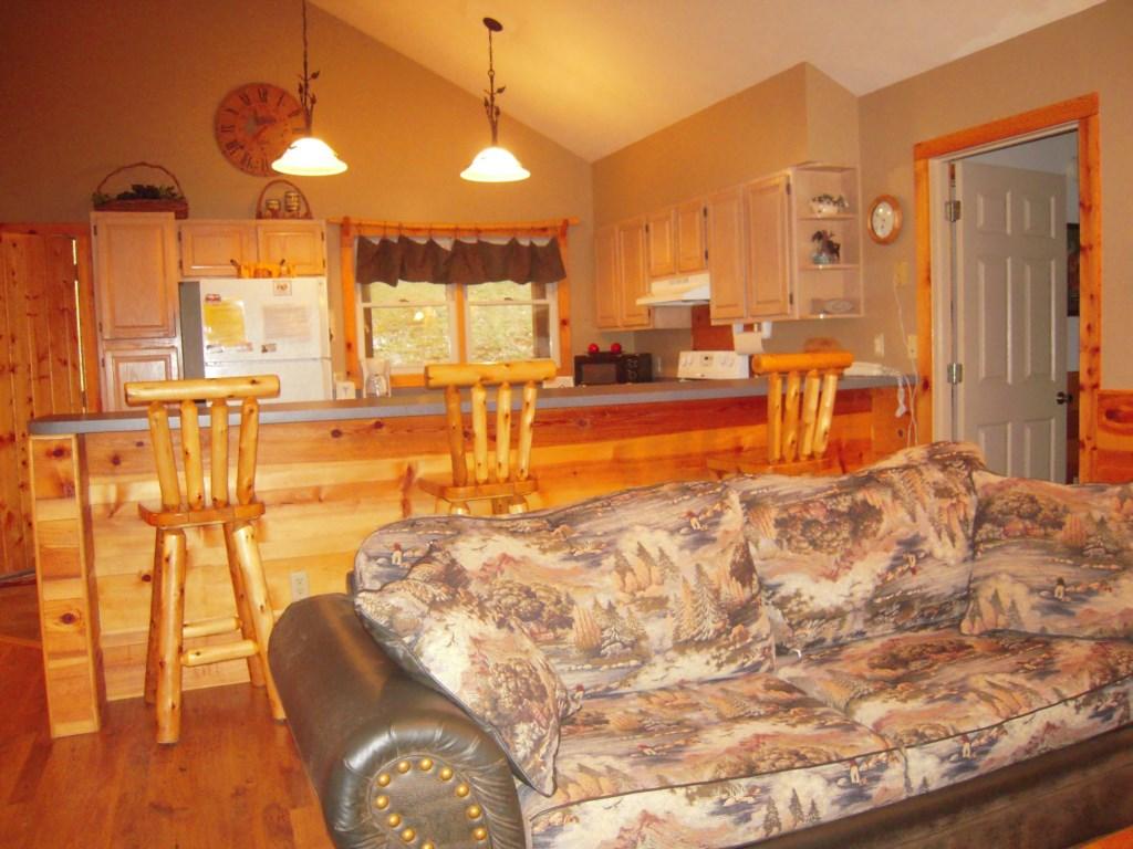 Open Floor Plan and Breakfast Bar