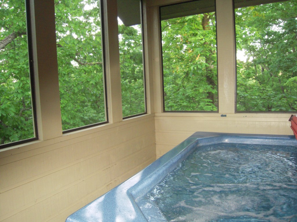 Enjoy the Natural Views from the Hot Tub