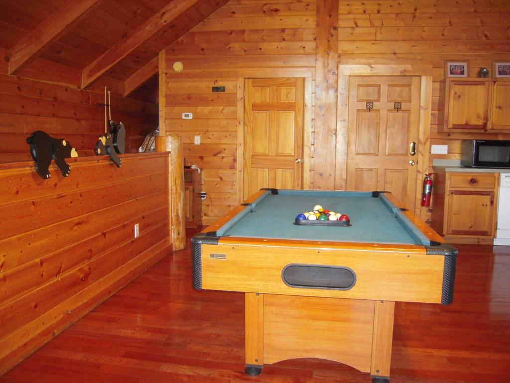 Fun Pool Table Game Room