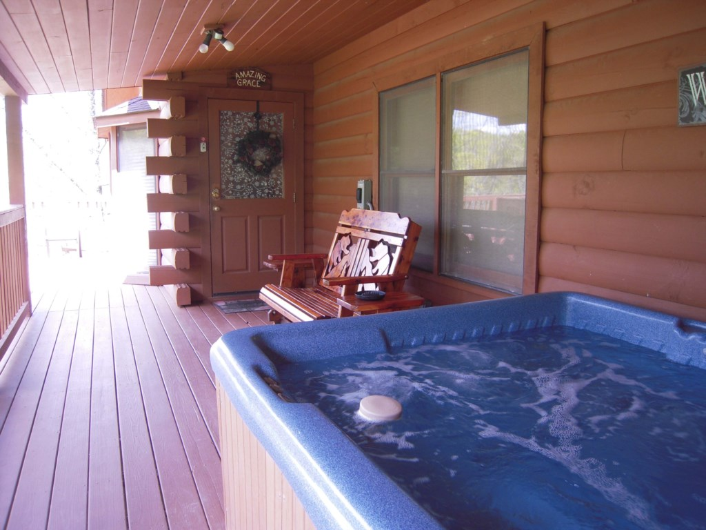 Relax and Unwind in the Jacuzzi