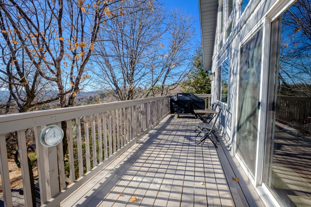Beautiful Deck with Grill for Family Gatherings