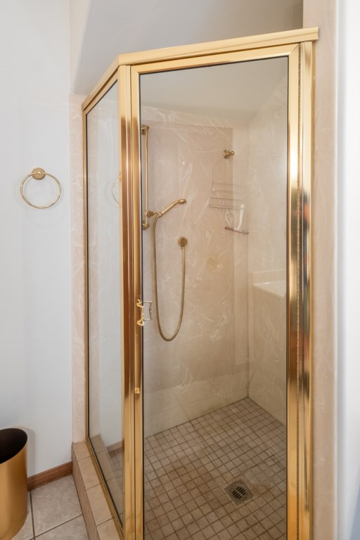 Relax in the Walk-In Shower