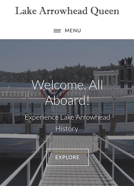 History of Lake Arrowhead via a boat tour