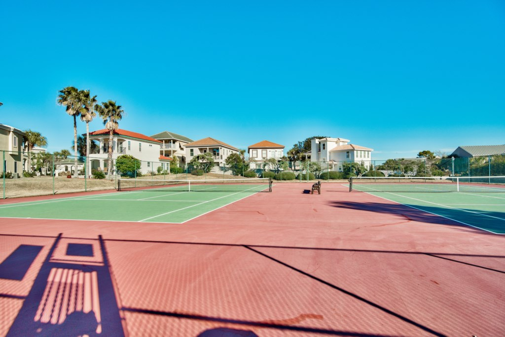 Tennis Courts right by house!