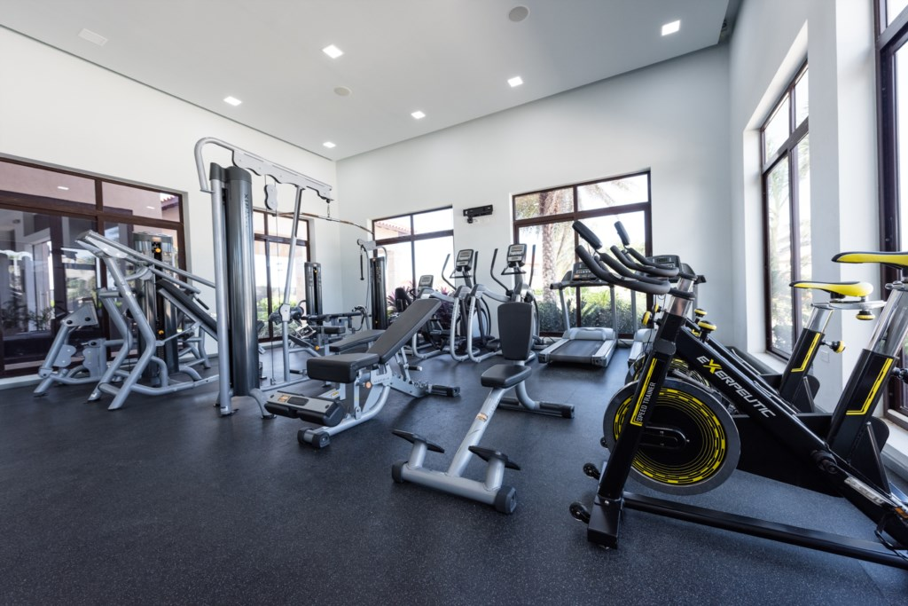 Fitness center on site