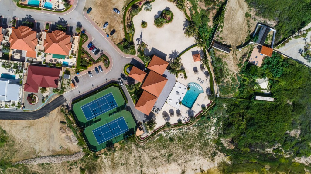 The Club House from above