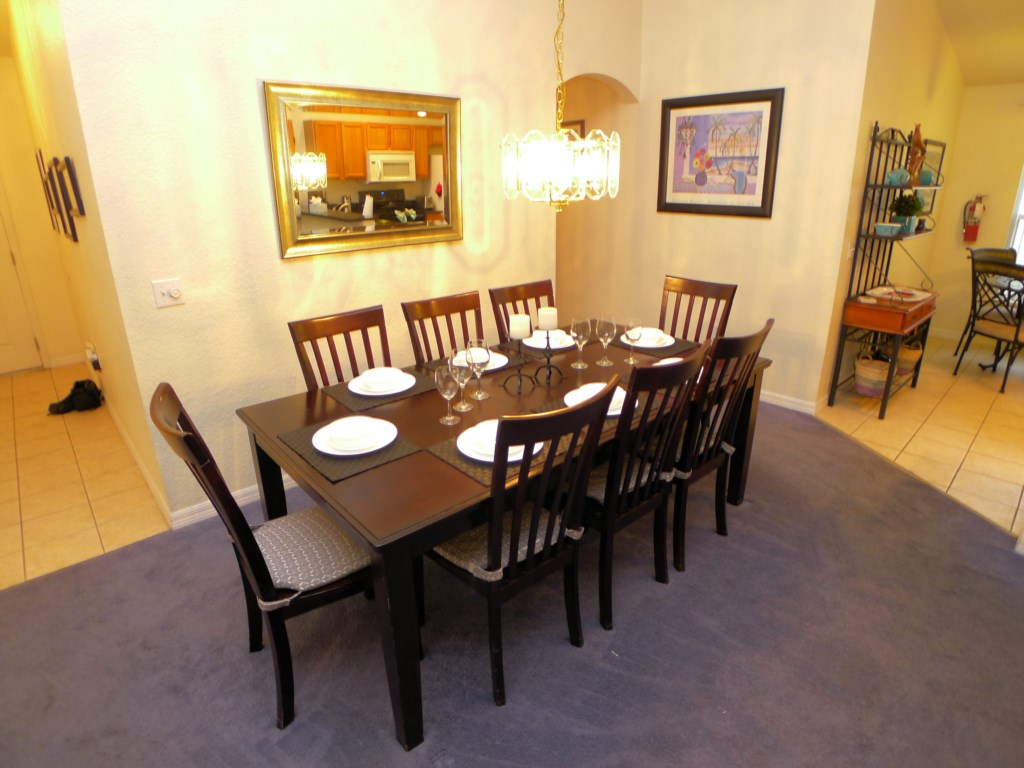 Dining Table Seats 8 Guests