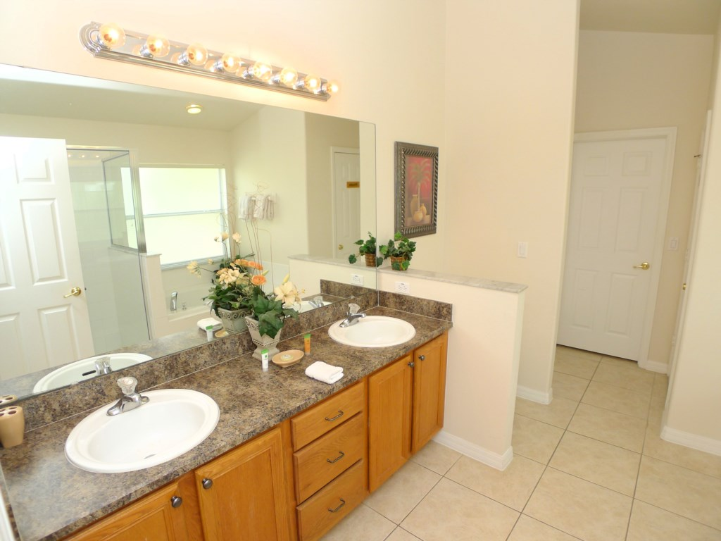 Master Bathroom with Dual Sinks Perfect for Couples