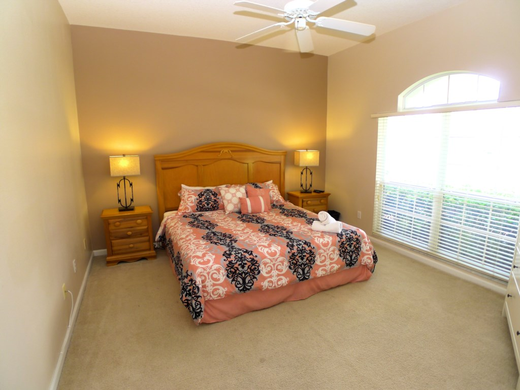 Enjoy the Luxurious Master Suite
