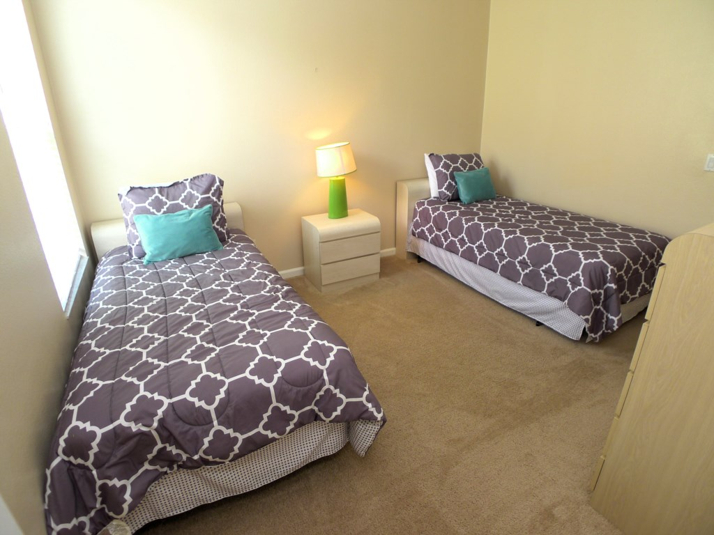 Twin Bedrooms Great for Big Families