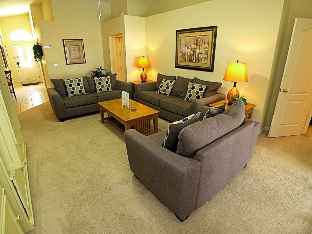 Large and Cozy Living Room