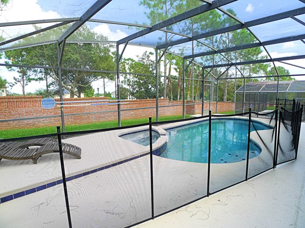 Fenced in Pool to Keep the Little Ones Safe