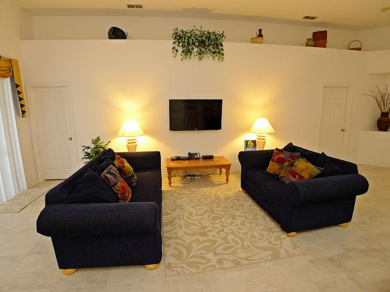 Enjoy the Cozy Living Room