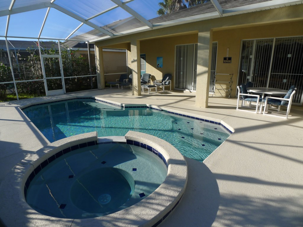 Make a Splash in the Private Pool and Deck