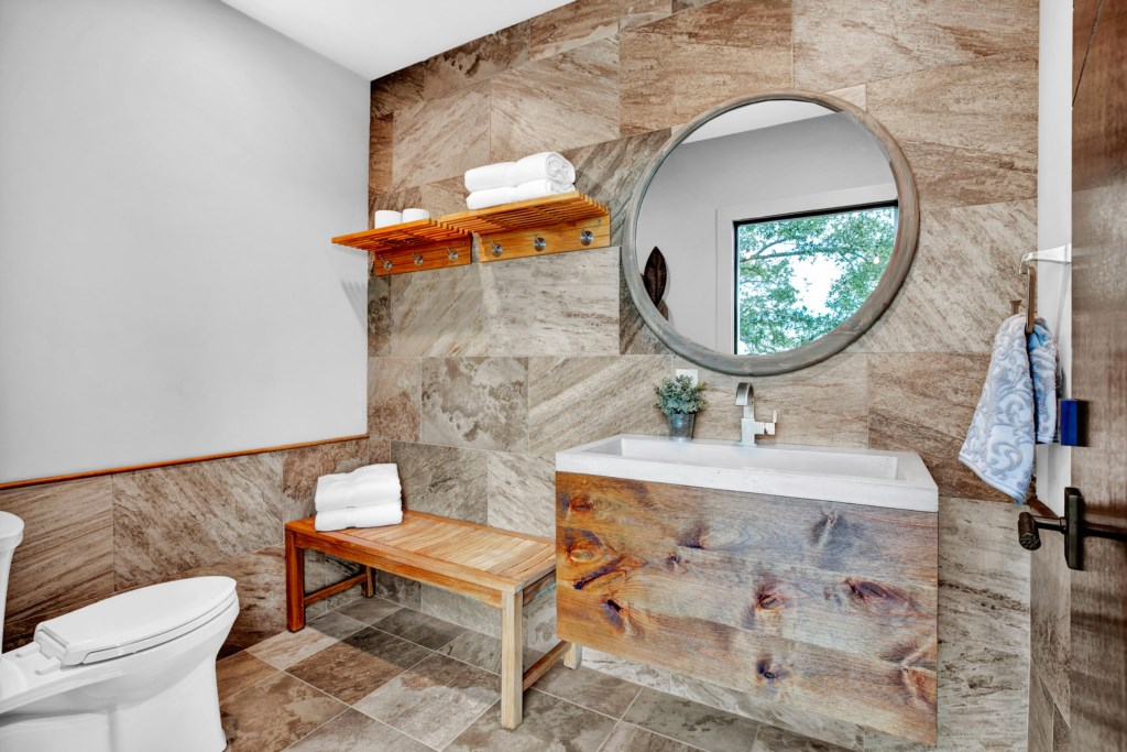 Pool and Hot Tub Half Bathroom