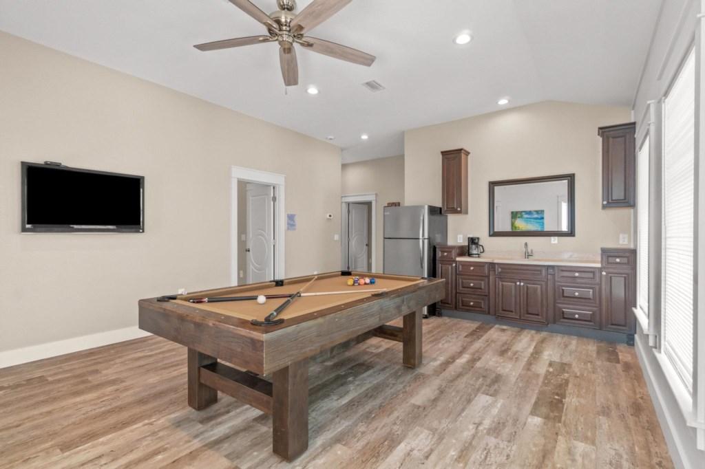 3rd Level billiards room