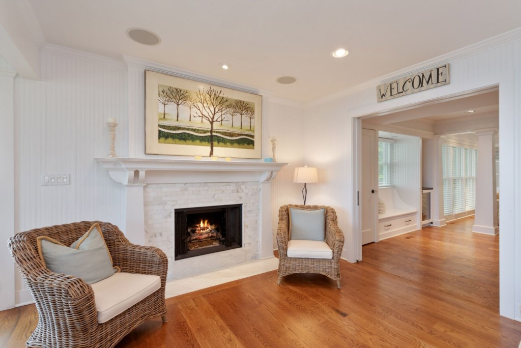 Gas Fireplace Seating
