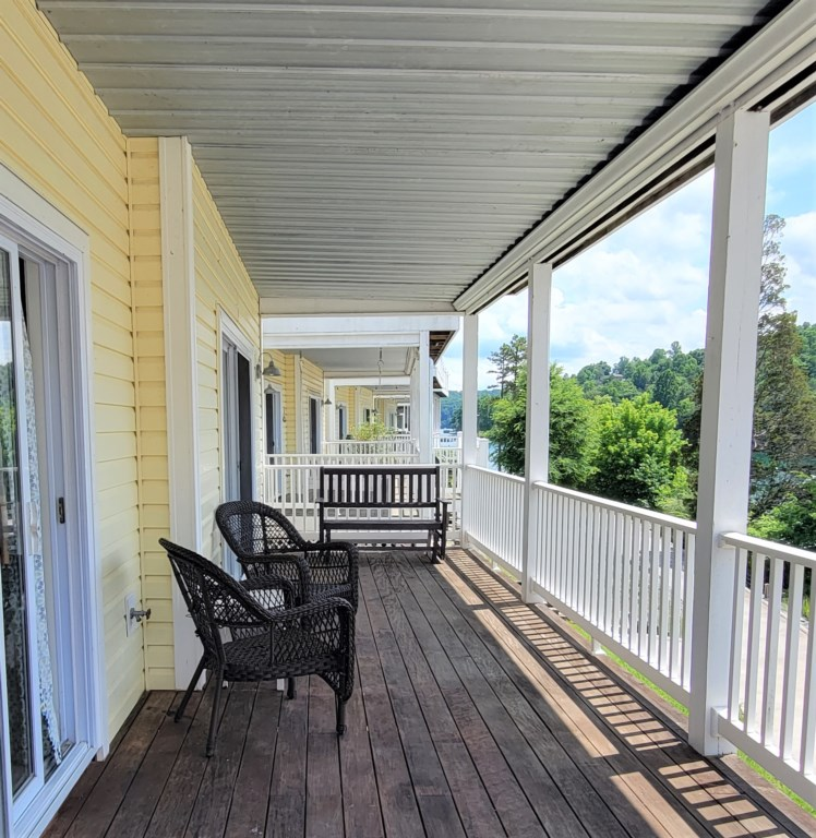 Downstairs Back Deck