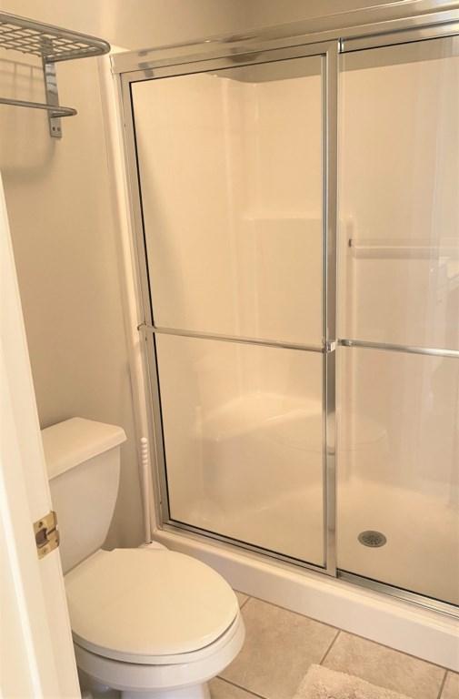 Downstairs Master Bathroom Shower
