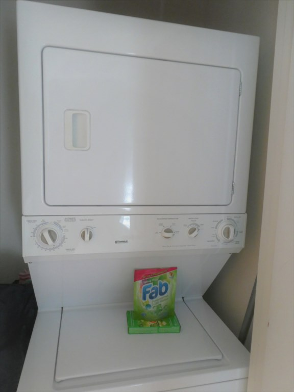 Washer and Dyer in unit