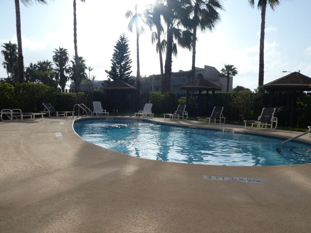Sunset View of Pool