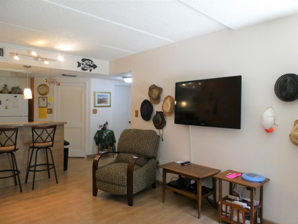 Larger TV with Cable