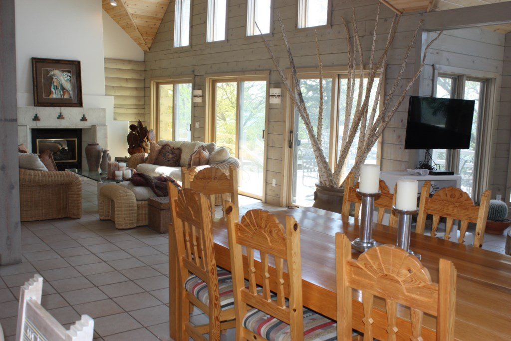 So many memories to be made in this dining room built for large family gatherings.