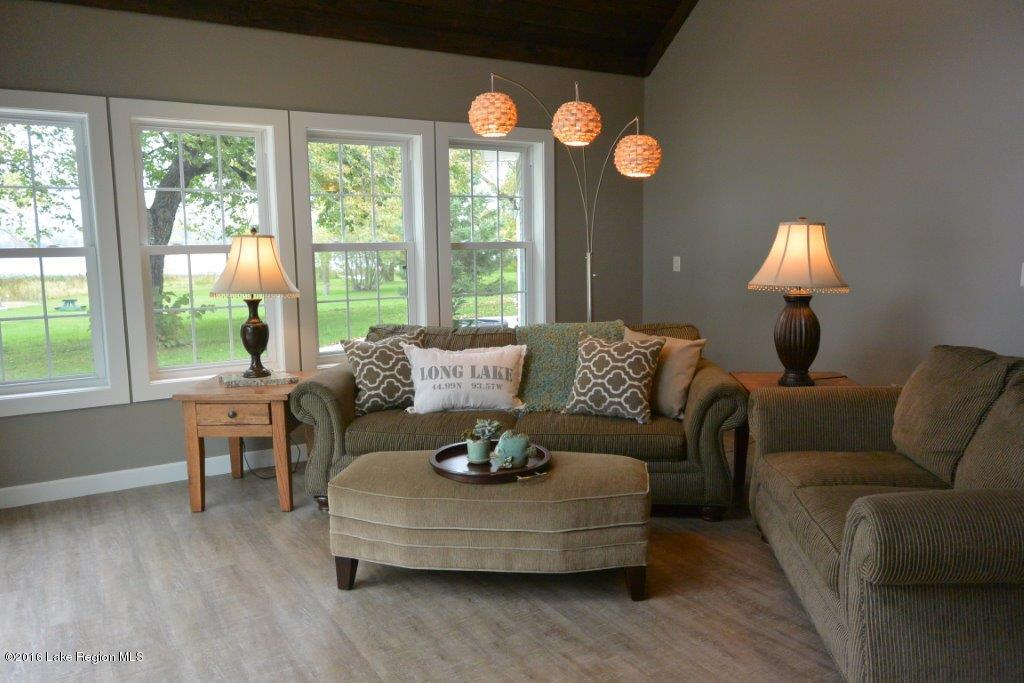 Tastefully decorated light filled rooms.
