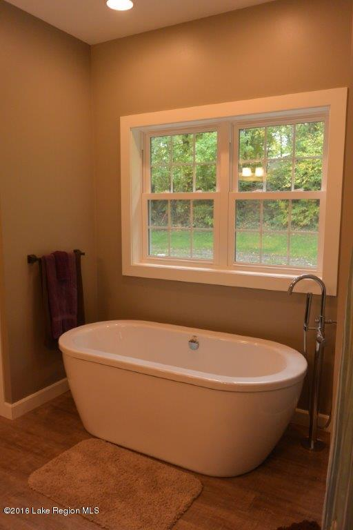 Soak all your troubles away in this beautiful master bathroom.