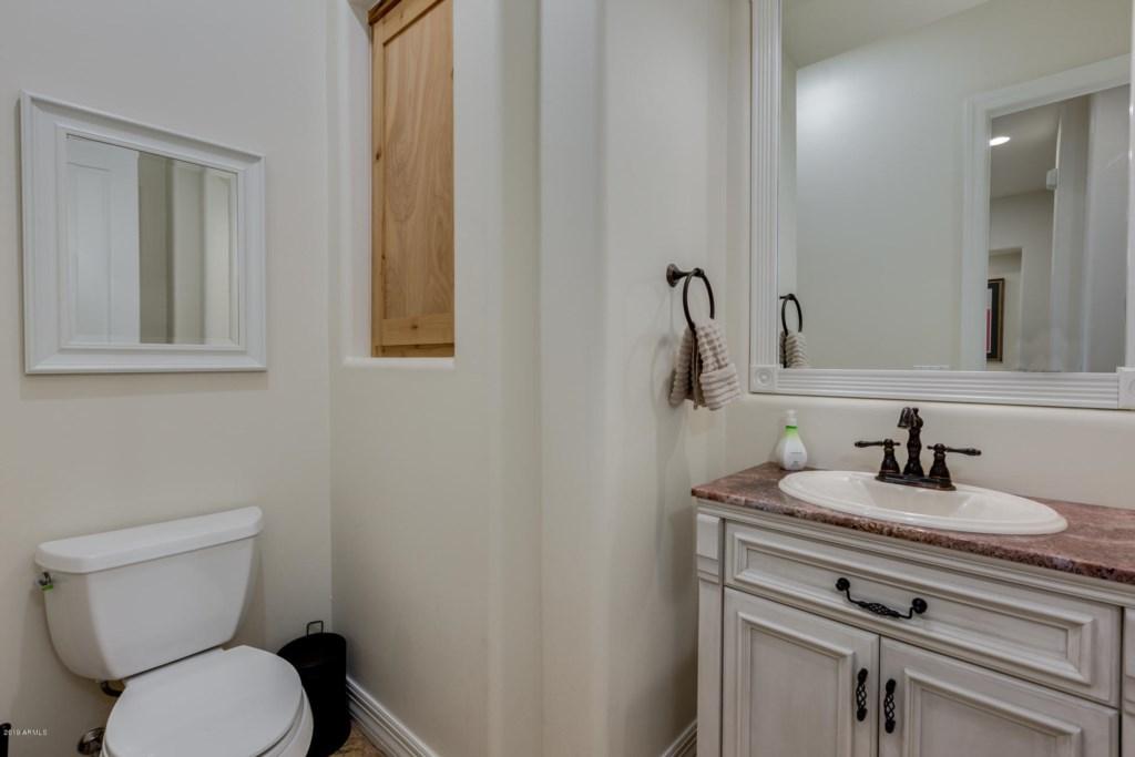 4th Bathroom (Half Bathroom)