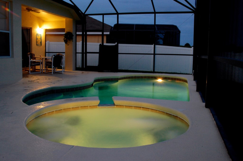 Private Pool With Spa