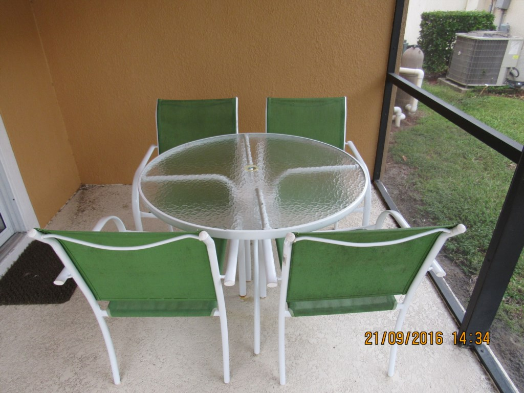 Covered Patio Seating