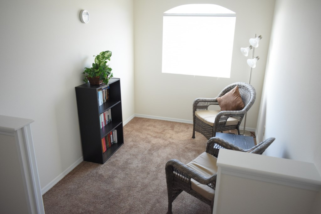 Upstairs Sitting Nook