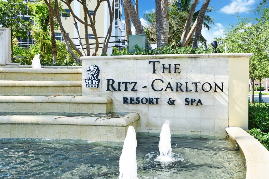 Located in the Luxurious Ritz Carlton