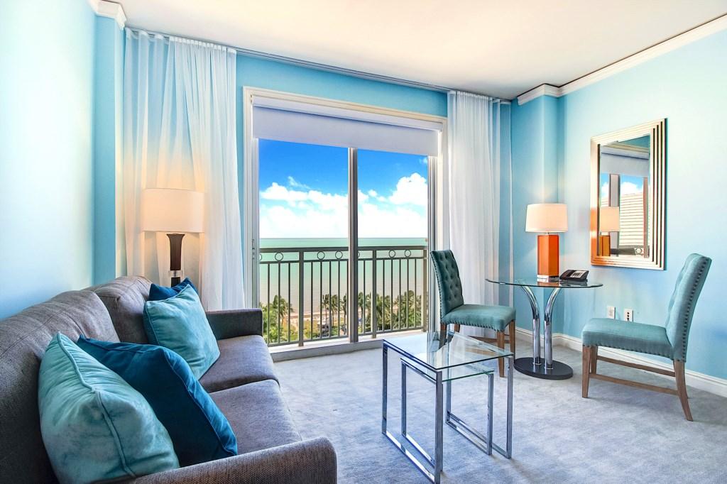 Enjoy Hotel Amenities Steps from the Ocean