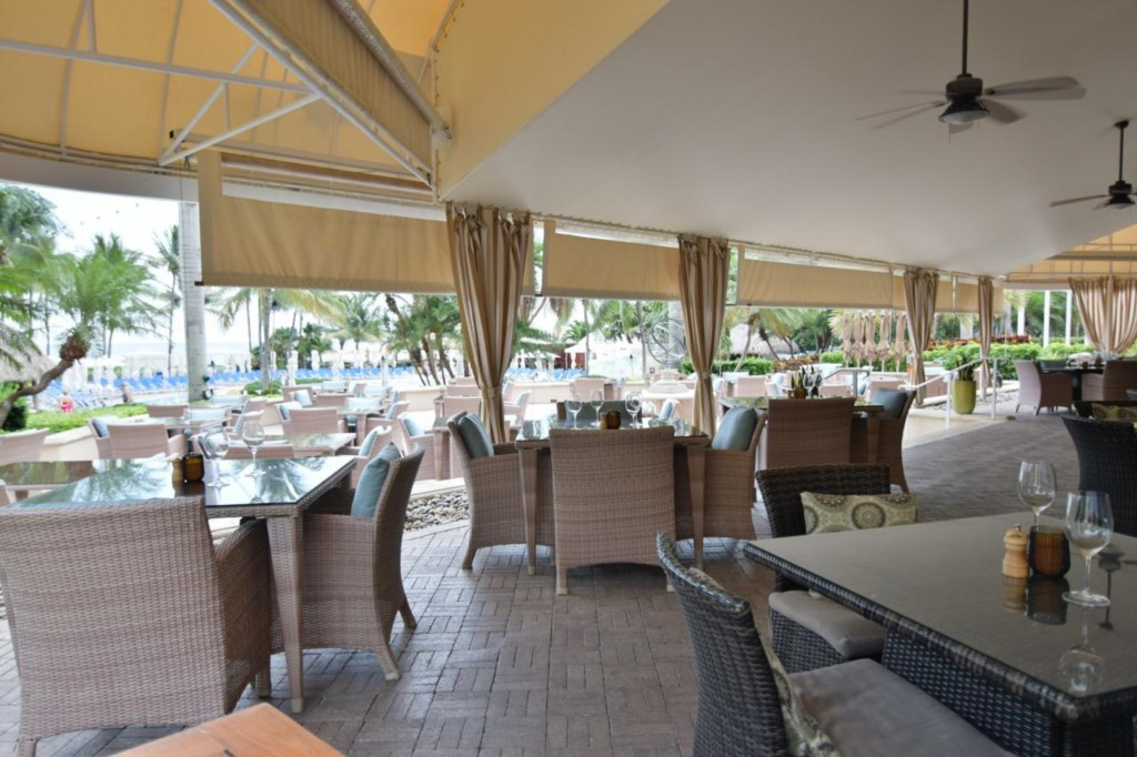 Outdoor and Indoor Dining Options