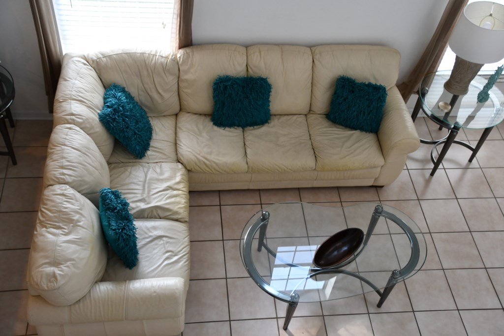 Cozy seating to relax and watch your favorite movie