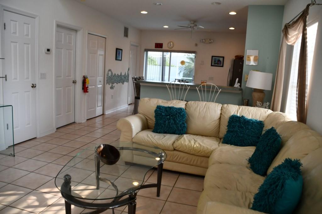 Family Room & TV Area
