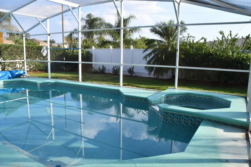 Relax and enjoy your Private Pool oasis